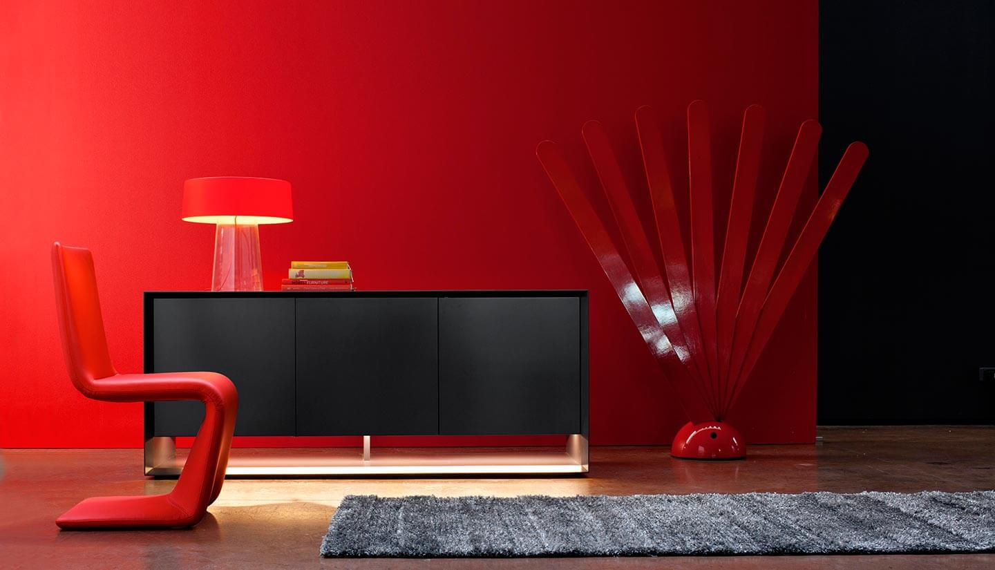 Bonaldo Sideboard Sunrise black