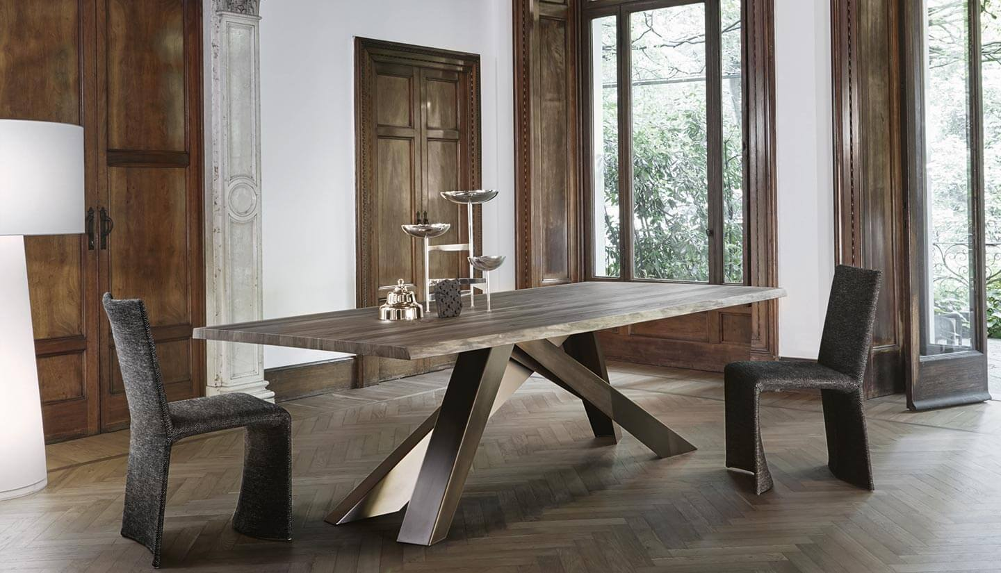 Bonaldo Big Table Nussbaum